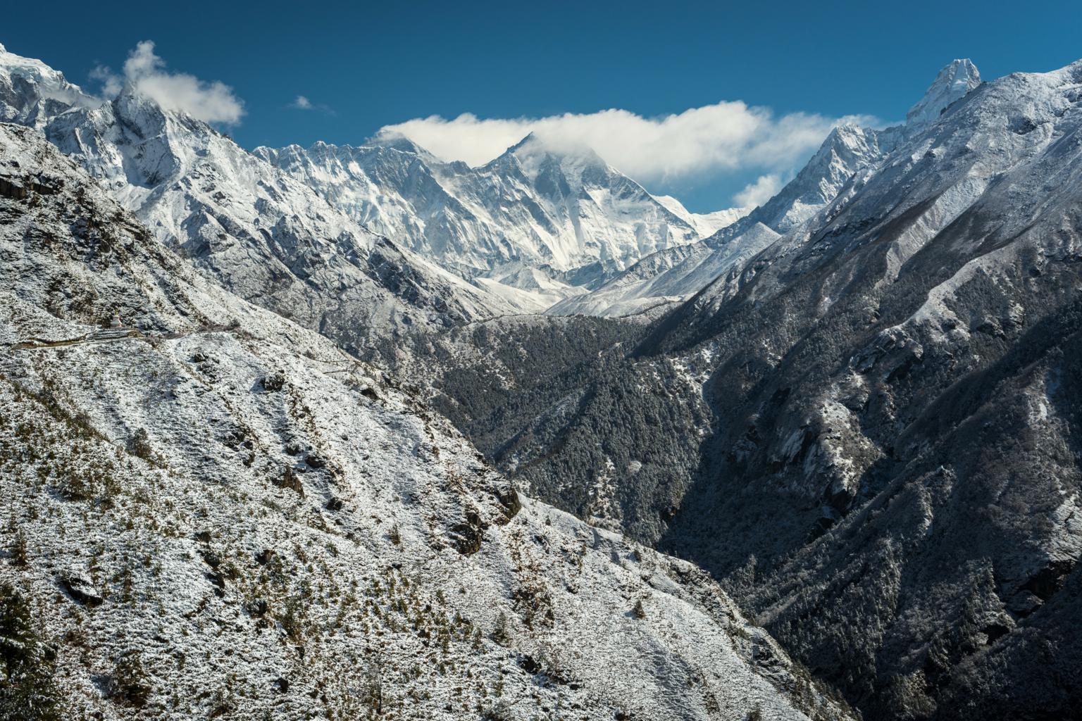 Everest region ama dablam