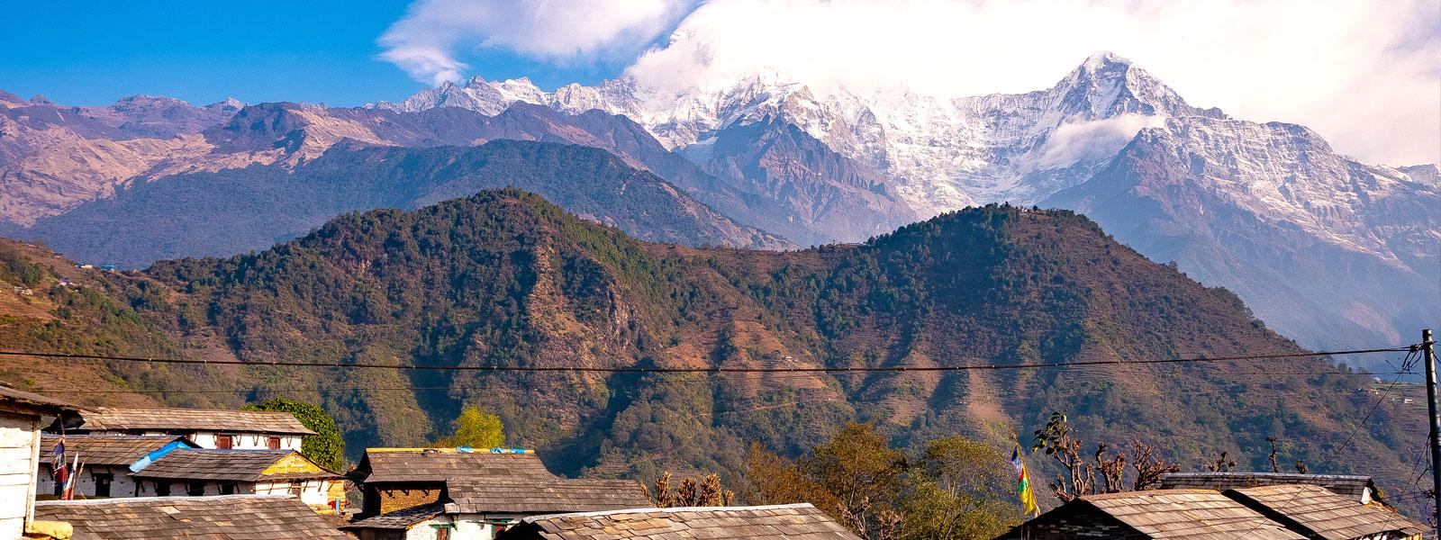 Mt. Annapurna from Ghandruk